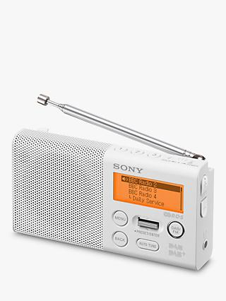 Sony XDR-P1 Portable DAB/DAB+/FM Digital Radio