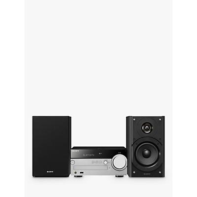 Image of Sony CMT-SX7B DAB/FM/CD Bluetooth NFC Wi-Fi Micro Hi-Fi System, Black