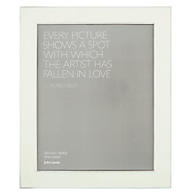 Buy John Lewis Amy Frame, L10 x W8in Online at johnlewis.com