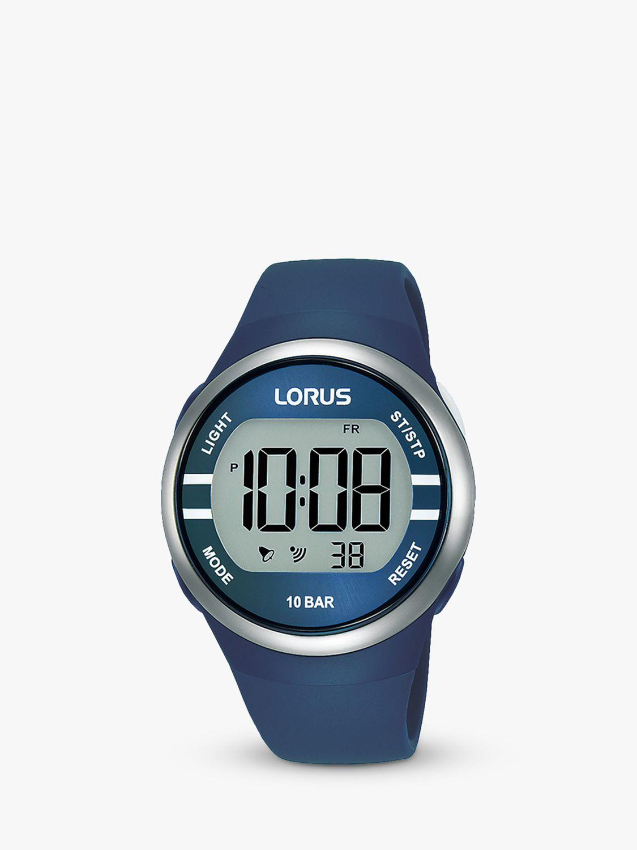 Lorus Lorus RG251KX9 Children's Nylon Strap Watch, Purple/White