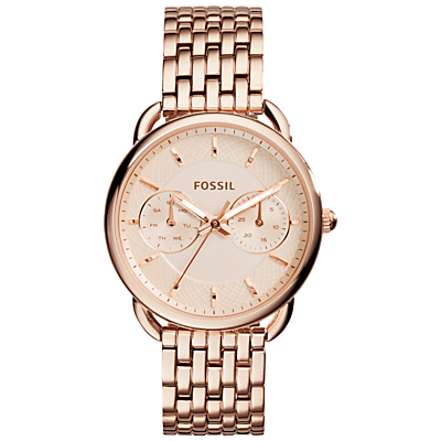Fossil Women's Tailor Chronograph Bracelet Strap Watch