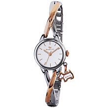 Buy Radley RY4231 Women's Bayer Two Tone Bracelet Strap Watch, Silver/Rose Gold Online at johnlewis.com