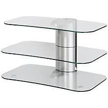 "Buy Off The Wall Skyline ARC800 Silver TV Stand for Curved Screen TVs up to 55"" Online at johnlewis.com"