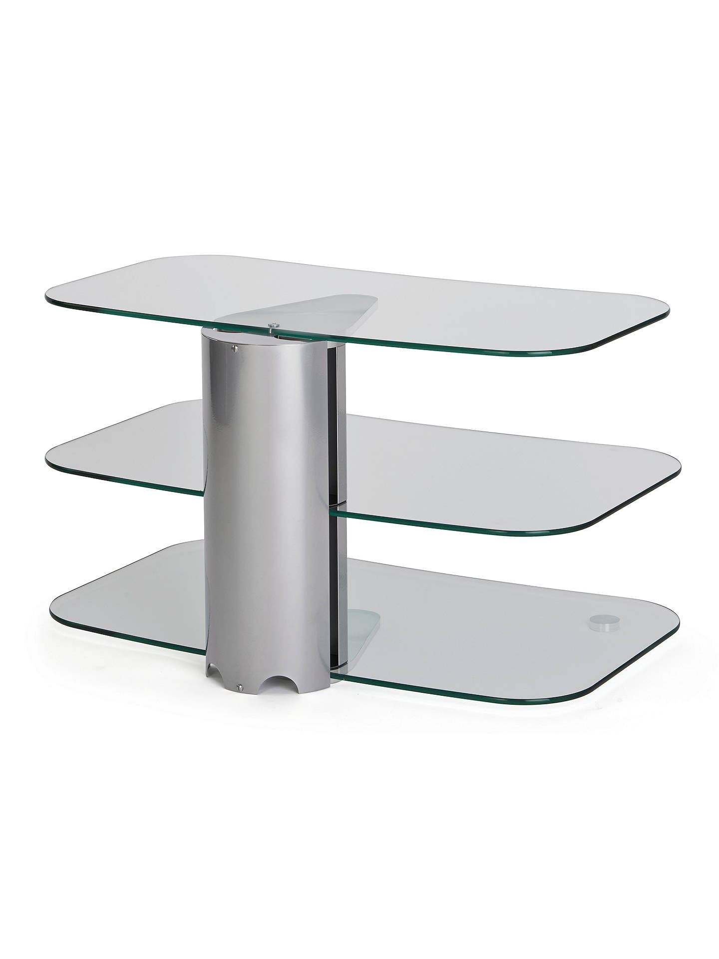 Off The Wall Skyline Arc800 Silver Tv Stand For Curved Screen Tvs Up