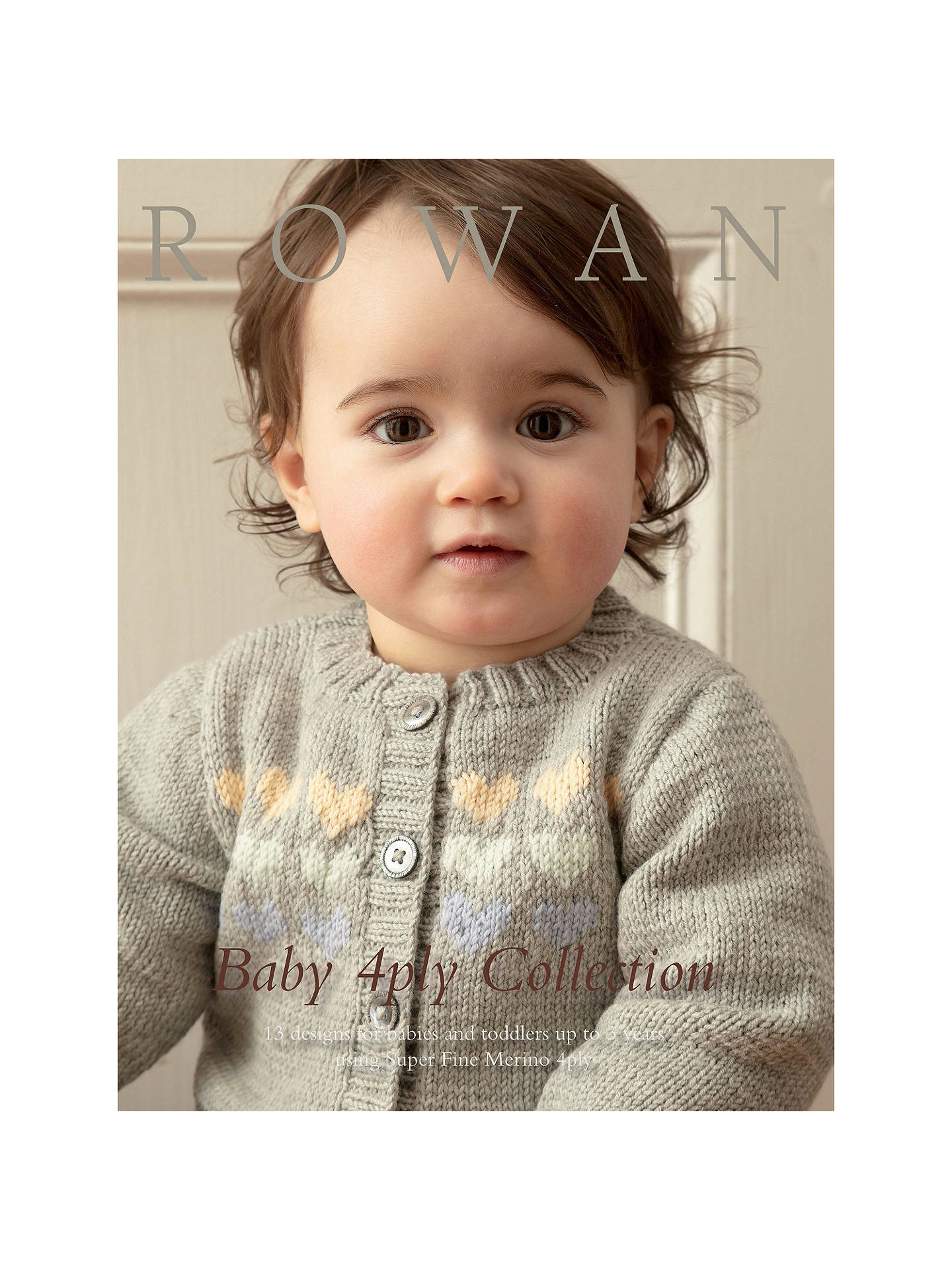 062af8e5a529 Rowan Baby 4 Ply Collection Knitting Pattern Book ZB186 at John ...