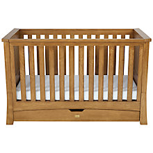 Buy Silver Cross Canterbury Oak Cotbed Online at johnlewis.com