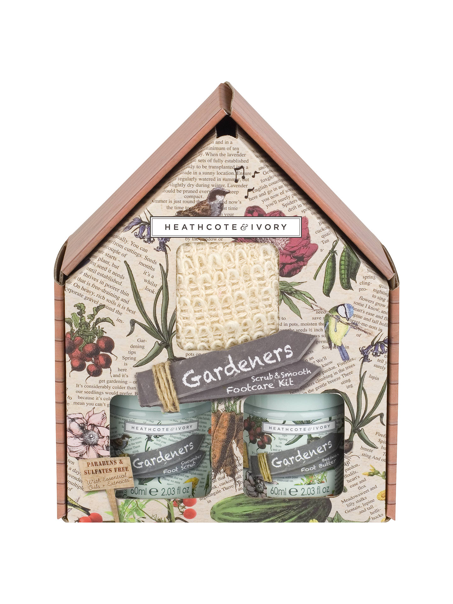Buy Heathcote & Ivory Gardeners Scrub & Smooth Foot Care Kit Online at johnlewis.com