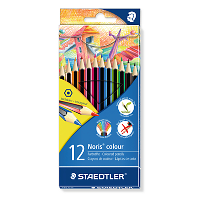 Image of Staedtler Noris Colouring Pencils, Pack of 12, Multi
