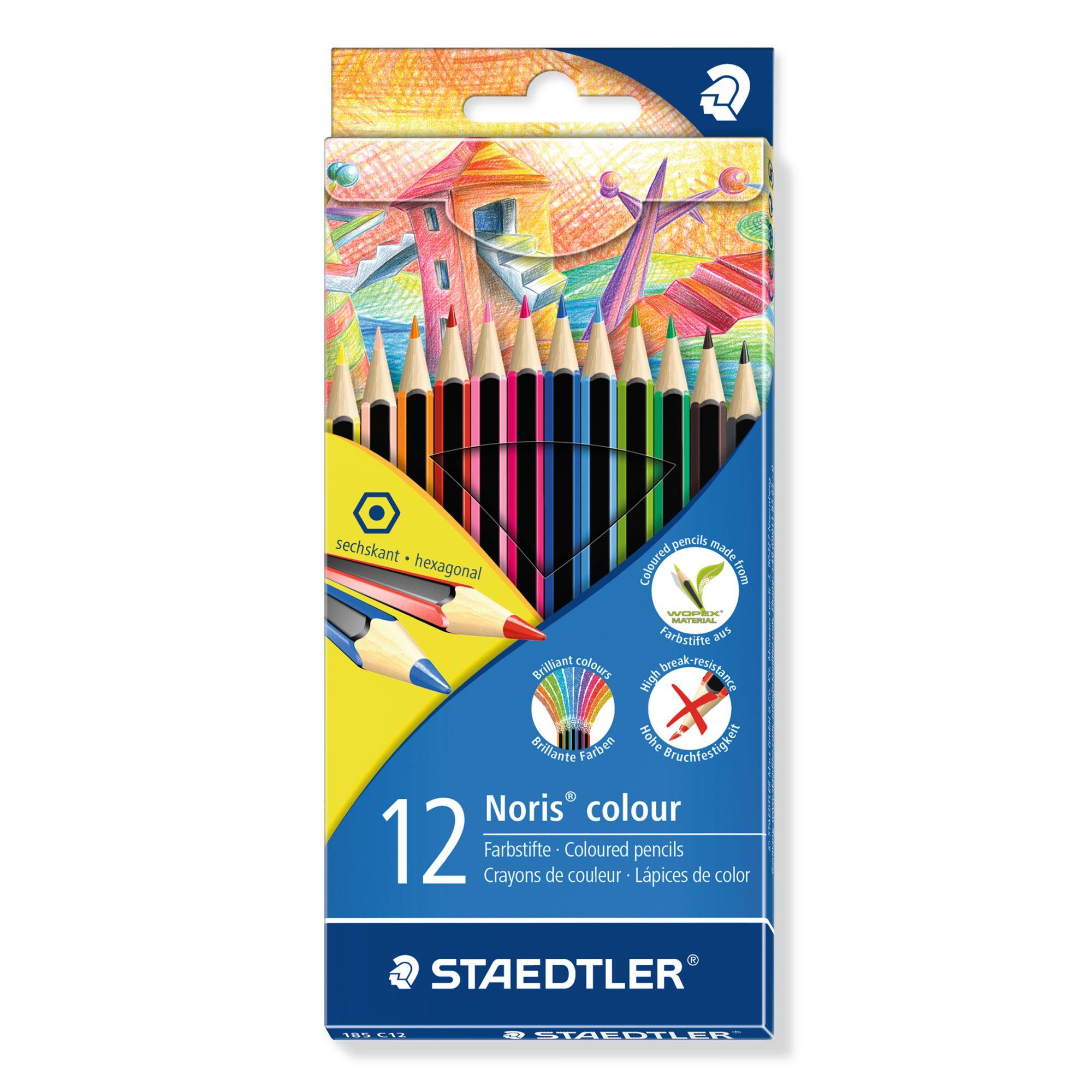 Staedtler STAEDTLER Noris Colouring Pencils, Pack of 12, Multi
