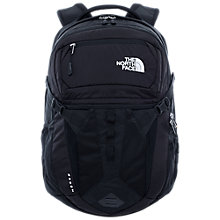 Buy The North Face Recon Backpack, Black Online at johnlewis.com