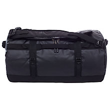Buy The North Face Base Camp Duffle Bag, Small, Black Online at johnlewis.com