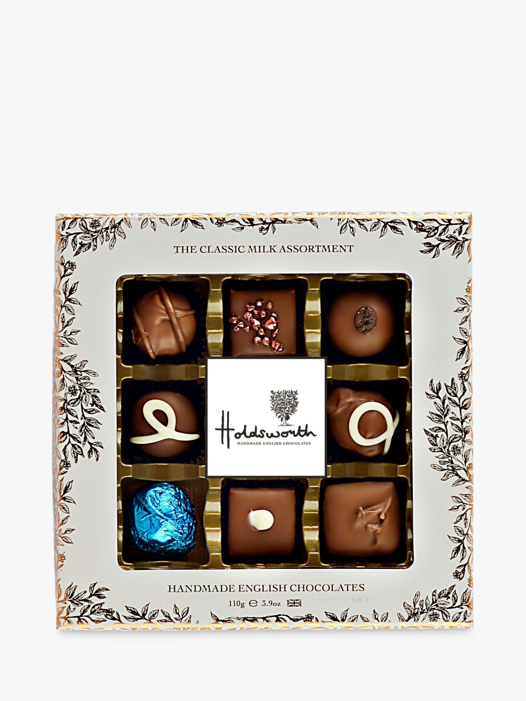 Holdsworth Holdsworth, Window Box Milk Chocolates, 110g