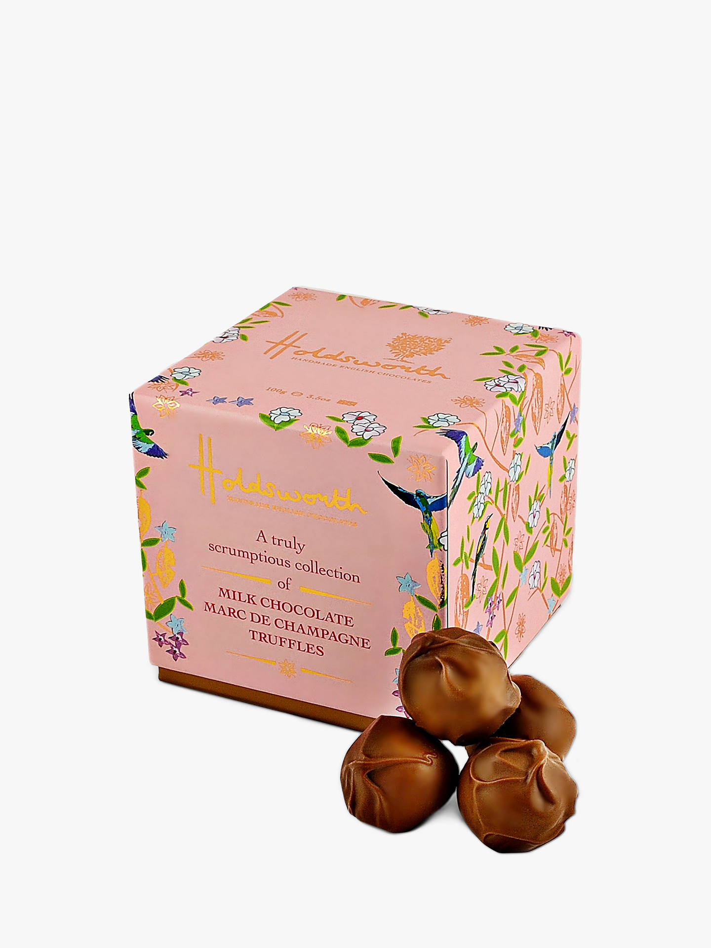 BuyHoldsworth Truly Scrumptious Champagne Truffles, 100g Online at johnlewis.com
