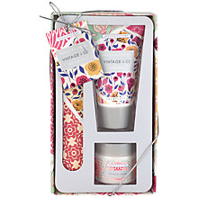 Buy Heathcote & Ivory Vintage Fabric & Flowers Nail Care Set Online at johnlewis.com