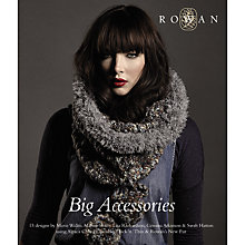 Buy Rowan Big Accessories Knitting Pattern Book Online at johnlewis.com