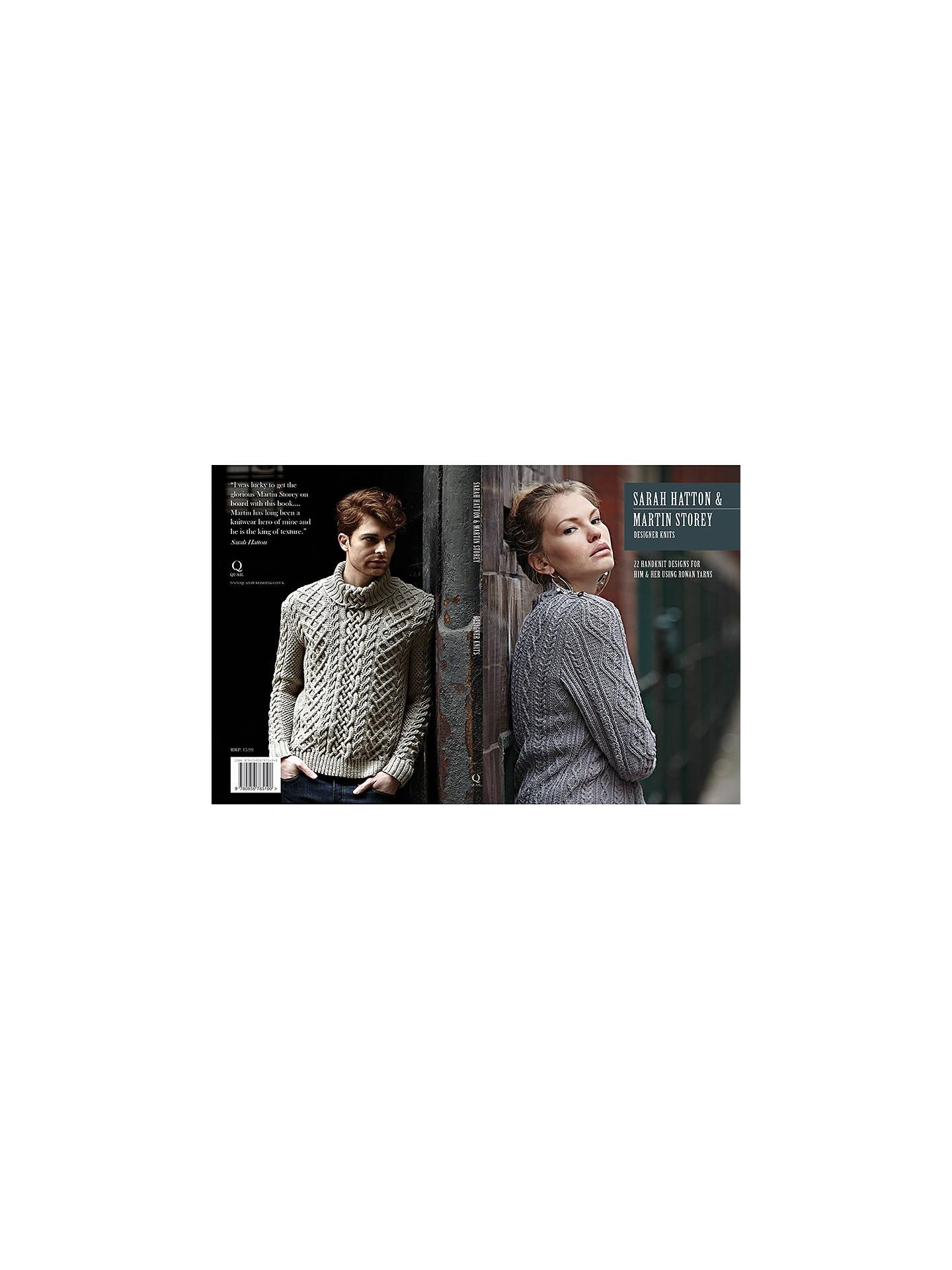 a3c973c303b70 ... Buy Rowan Designer Knits by Sarah Hatton   Martin Storey Knitting  Pattern Book Online at johnlewis