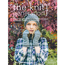 Buy The Knit Generation Curated by Sarah Hatton Knitting Pattern Book Online at johnlewis.com