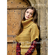 Buy Rowan Pure Wool Worsted Collection by Martin Storey Knitting Pattern Book Online at johnlewis.com