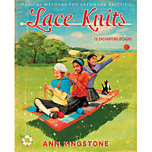 Buy Lace Knits by Ann Kingstone Knitting Pattern Book Online at johnlewis.com