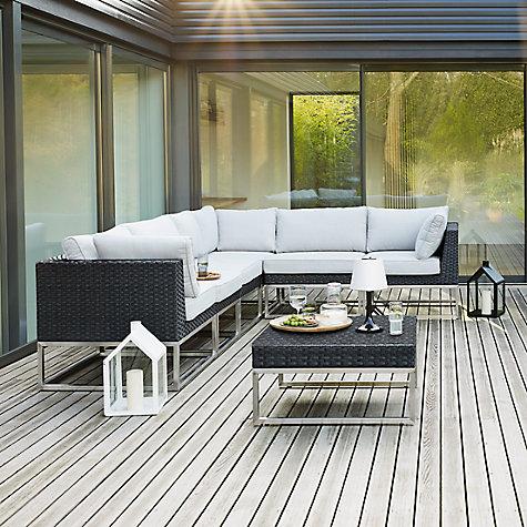 Buy John Lewis Garda Corner Sofa Footstool Set Online At Johnlewis