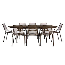 Buy John Lewis Ala Mesh Extending Table & Chairs Dining Set Online at johnlewis.com