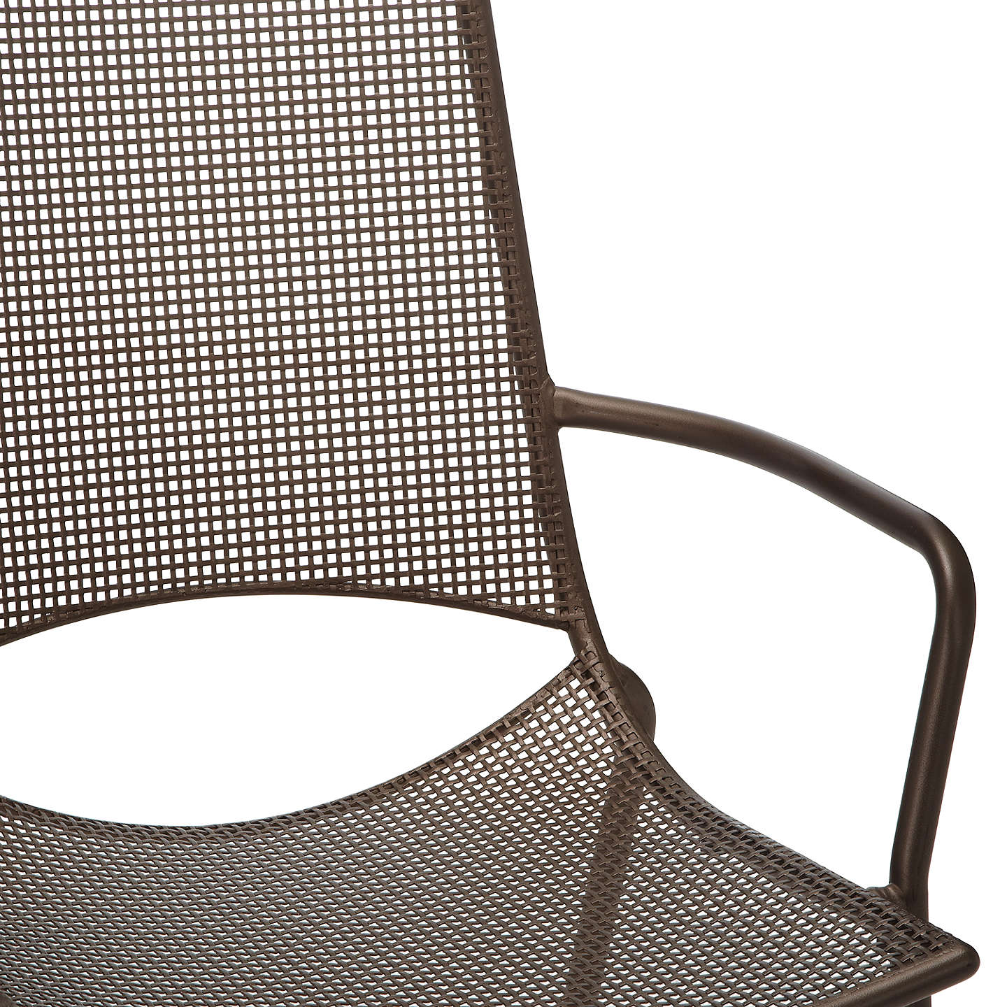 Garden Table And Chairs Set John Lewis: John Lewis Ala Mesh Extending Garden Dining Table And