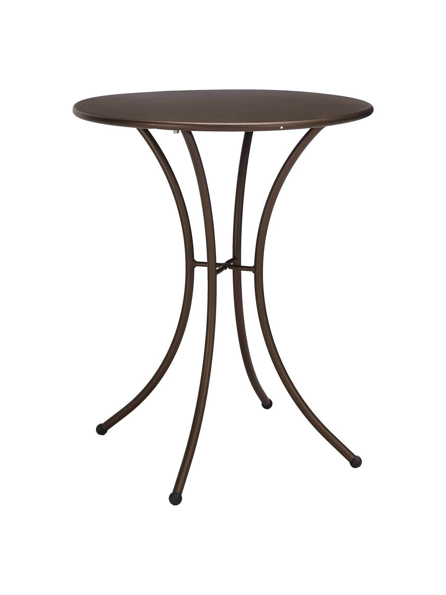 Awe Inspiring John Lewis Partners Ala Mesh Garden Table And Chairs Bistro Set Bronze Machost Co Dining Chair Design Ideas Machostcouk