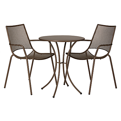 John Lewis Ala Mesh Table & Chairs Bistro Set