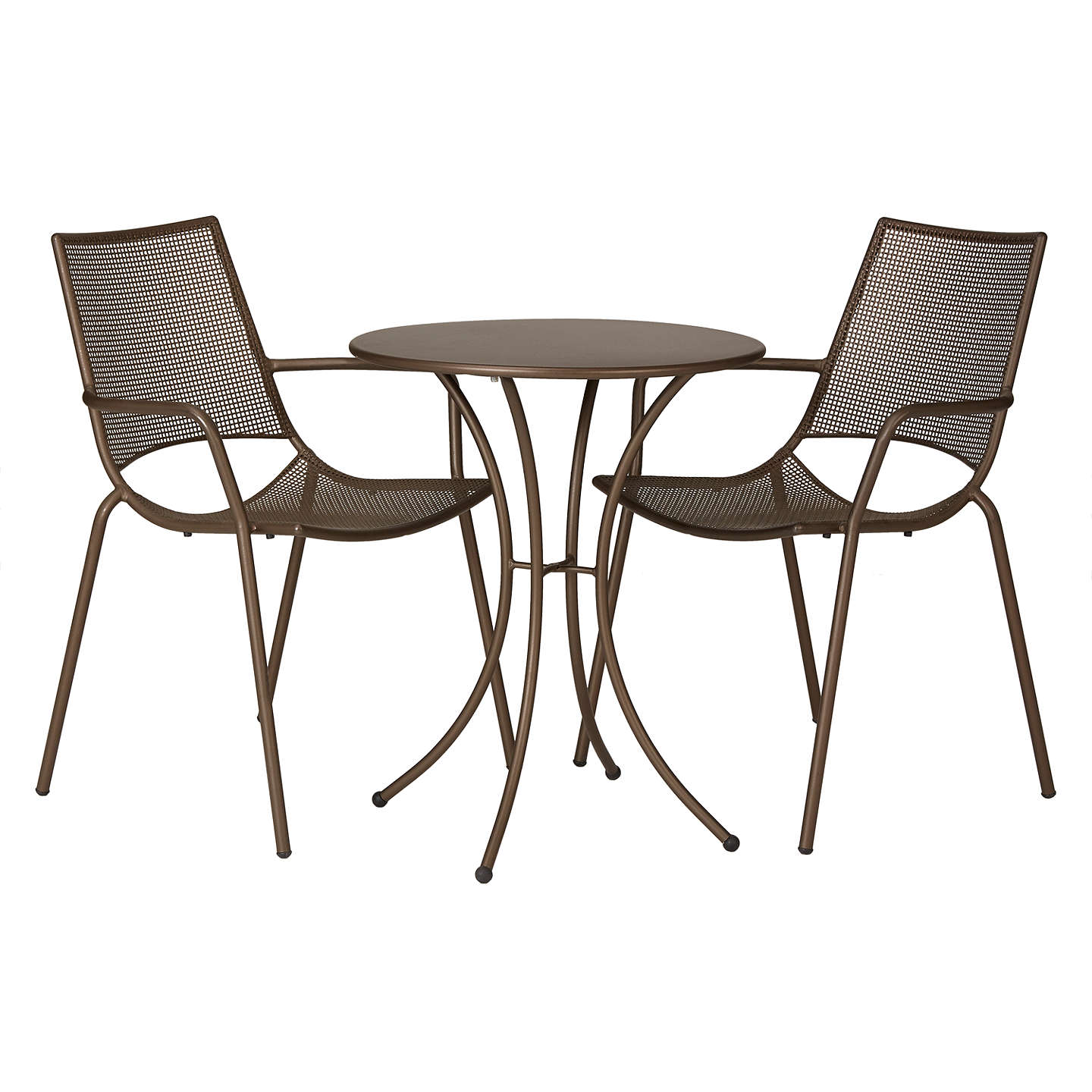 Bistro Set lewis ala mesh garden table and chairs bistro set bronze at