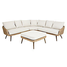 Buy John Lewis Carnaby Corner Sofa and Footstool Set Online at johnlewis.com