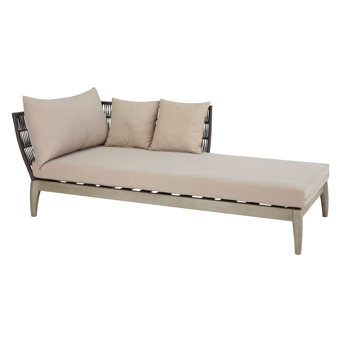 BuyJohn Lewis Ariel Garden Chaise Lounging Chair Online At Johnlewis.com ...