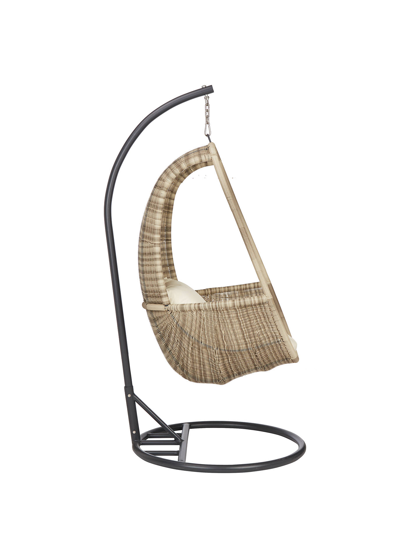 Buy John Lewis & Partners Dante Pod Hanging Chair, Natural Online at johnlewis.com