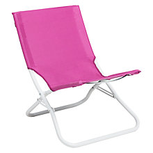 Buy House by John Lewis Beach Chair, Pink Online at johnlewis.com