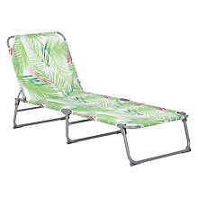 Buy John Lewis Leaf Sunlounger Online at johnlewis.com