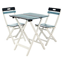 Buy John Lewis Salcombe Bistro Set Online at johnlewis.com