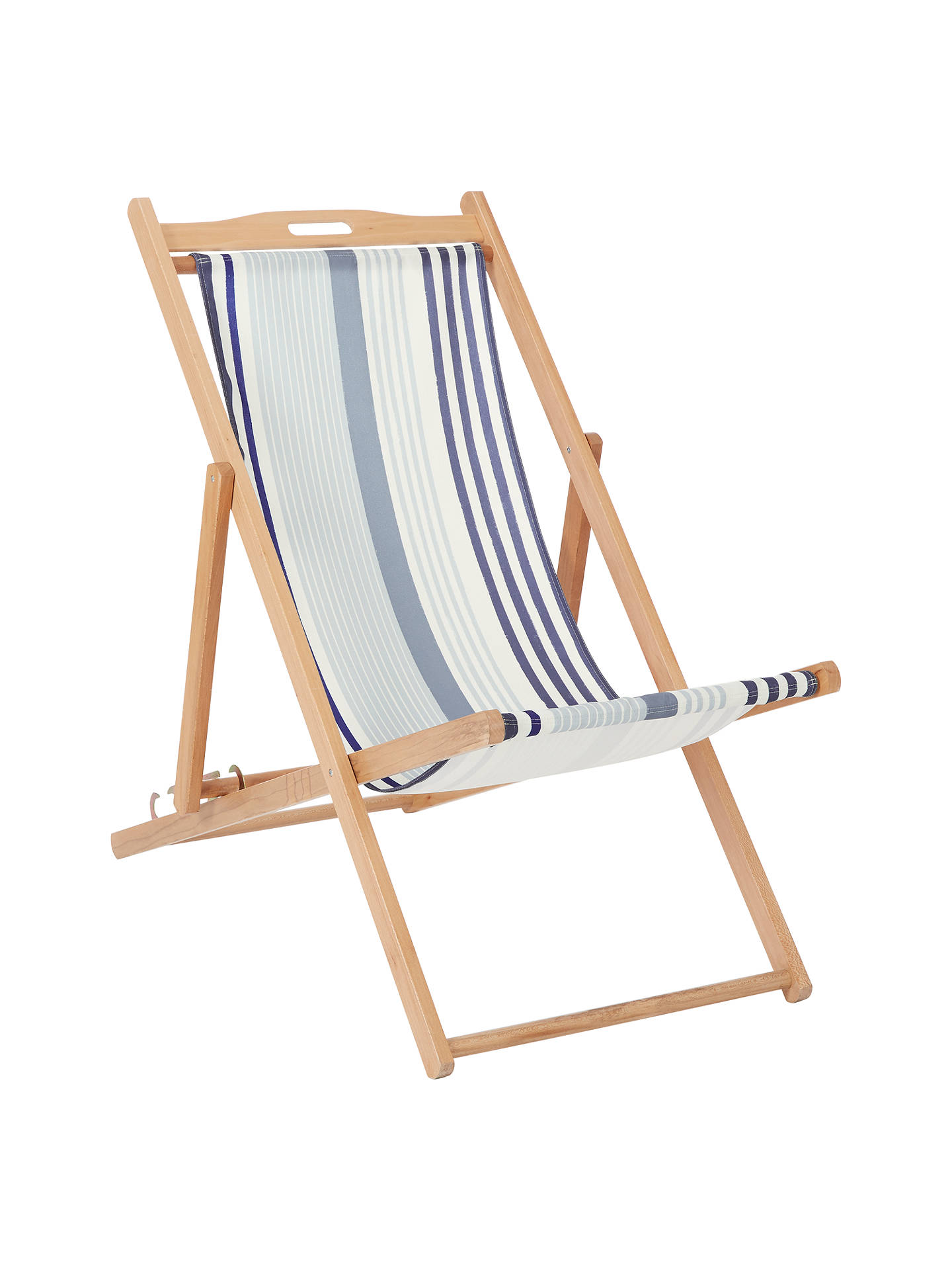 Enjoyable John Lewis Coastal Striped Deckchair Sling House By John Gmtry Best Dining Table And Chair Ideas Images Gmtryco