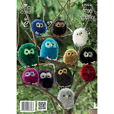 Image of King Cole Soft Toy Knitting Pattern, 9022