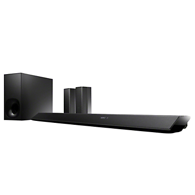 Sony HT-RT5 5.1 Wi-Fi Bluetooth NFC Home Cinema System With Wireless Subwoofer