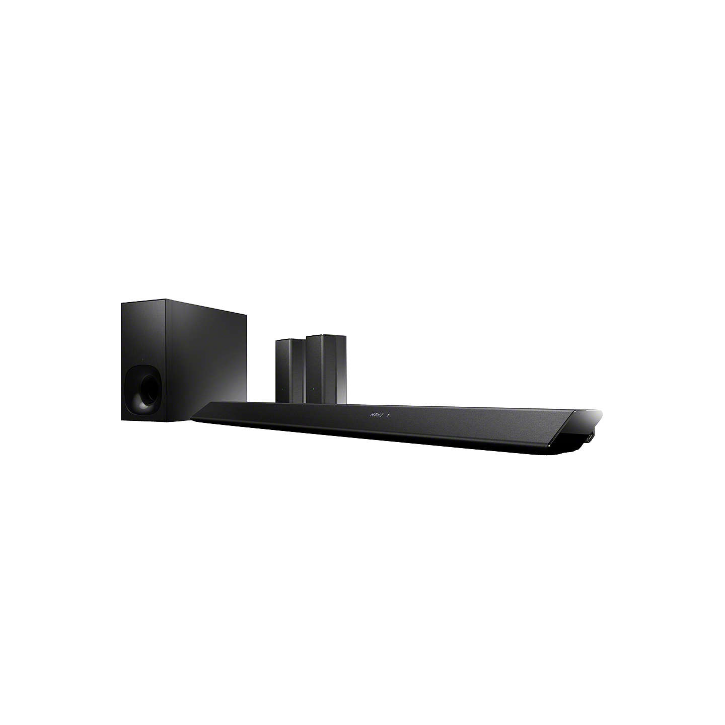 BuySony HT-RT5 5.1 Wi-Fi Bluetooth NFC Home Cinema System With Wireless Subwoofer Online at johnlewis.com