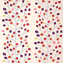 Buy Scion Berry Tree Furnishing Fabric, Mink / Plum / Berry / Lime Online at johnlewis.com