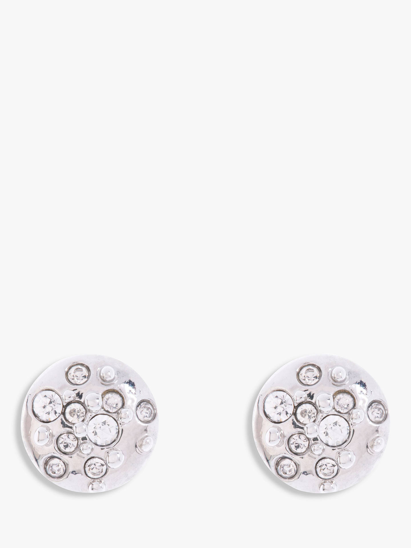 62a99cff1 Buy Karen Millen Sprinkle Crystal Stud Earrings, Silver Online at  johnlewis.com ...