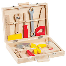 Buy Janod Bricolo Tool Box Set Online at johnlewis.com
