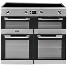 Buy Leisure CS100D510X Induction Range Cooker, Stainless Steel Online at johnlewis.com