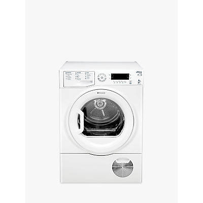 Hotpoint SUTCDGREEN9A1 Ultima Heat Pump Tumble Dryer, 9kg Load, A+ Energy Rating, White