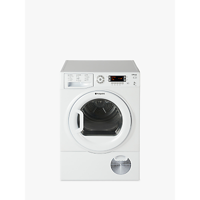 Hotpoint Ultima SUTCD97B6PM Freestanding Tumble Dryer, 9kg Load, B Energy Rating, White
