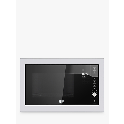 Image of Beko MGB25332BG Integrated Microwave Oven with Grill, Stainless Steel