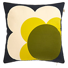 Buy Orla Kiely Single Bigspot Flower Reversible Cushion Online at johnlewis.com