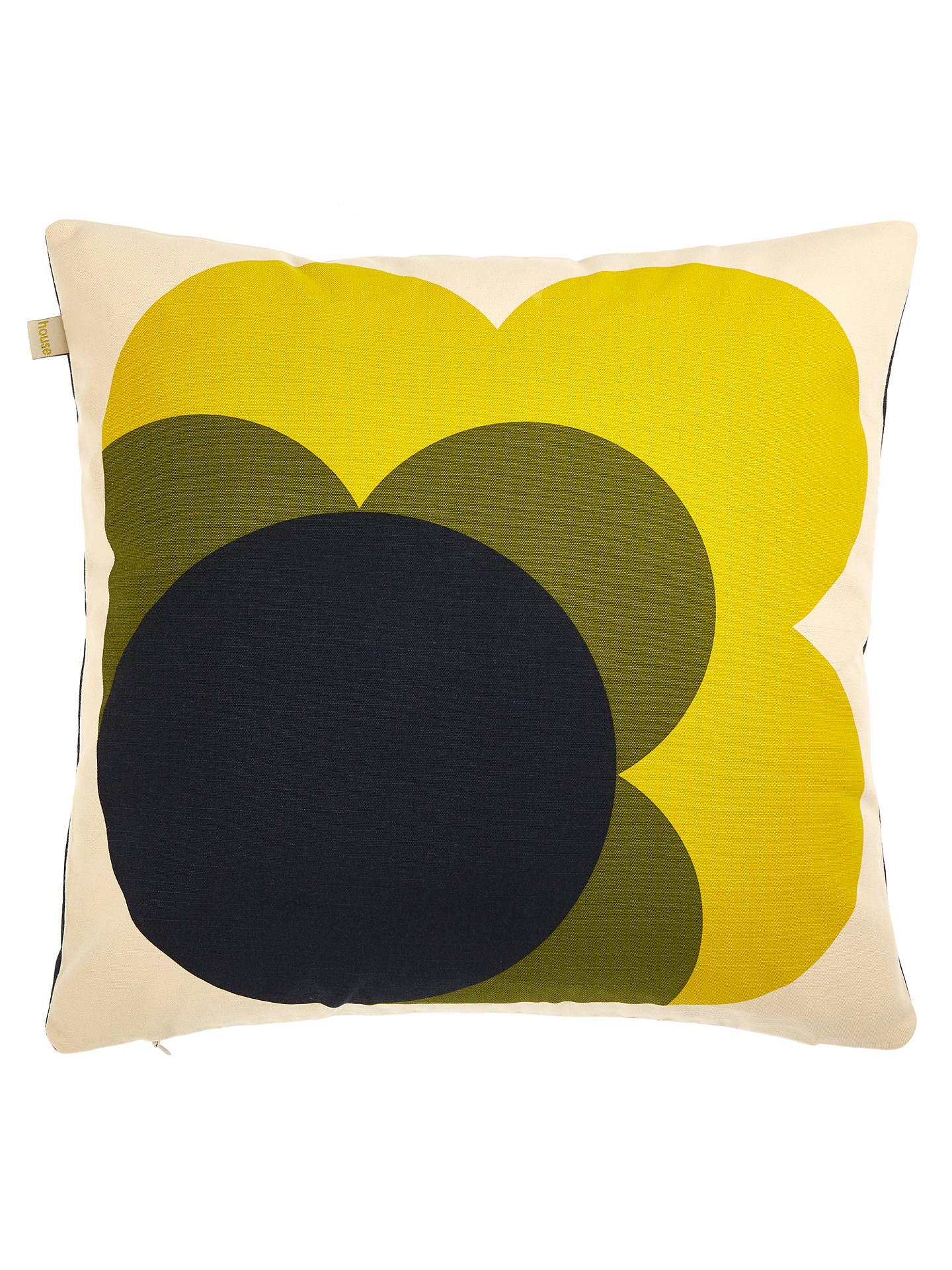 Bigspot Com Reviews >> Orla Kiely Single Bigspot Flower Reversible Cushion at John Lewis & Partners