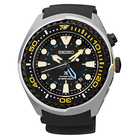 seiko men s watches john lewis buy seiko sun021p1 men s prospex diving silicone strap watch black online at johnlewis com