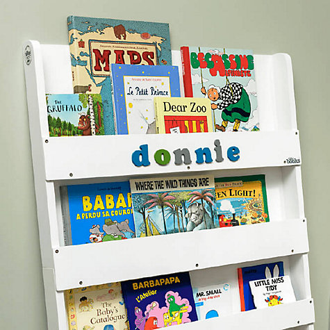 Tidy Books Personalised Abc Bookcase White Online At Johnlewis